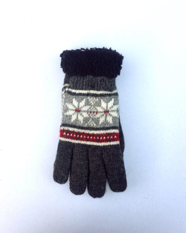 Noorse handschoenen rood