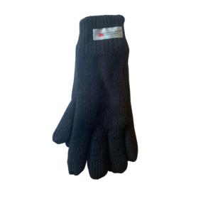 Gebreide-handschoen-blauw-beunk-lederwaren
