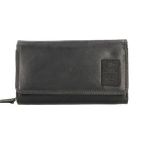 Gaz ruime portemonnee met rfid bescherming zwart
