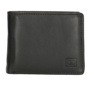DD compacte heren portemonnee zwart-1