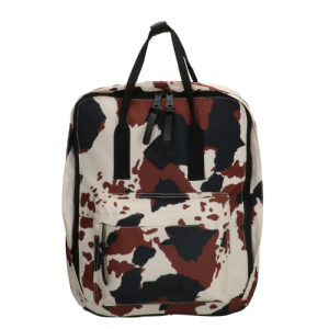 EB rugzak london koe print 14 inch laptop 10 liter