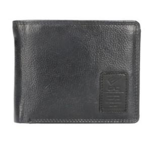 GAZ luxe heren portemonnee zwart