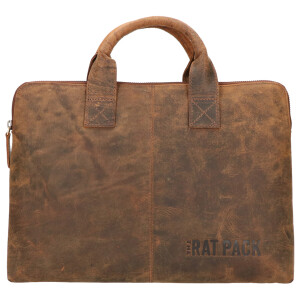 The Ratpack laptoptas 13 inch bruin OF555