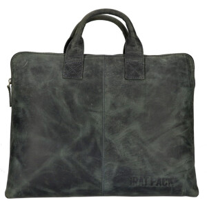 The Ratpack laptoptas/ laptophoes 15.6 inch groen OF555