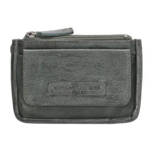 hide & stitches kleine portemonnee paintrock 18770 grijs