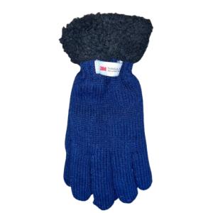 Thinsulate handschoenen wol blauw 1